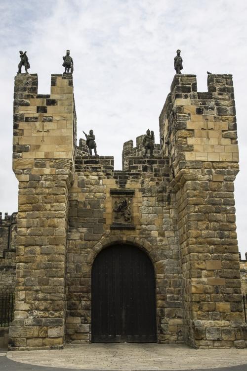 Viel zu weitläufig für uns - für dieses Mal: Alnwick Castle