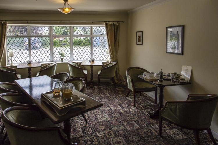 Frühstücksraum im Galloway Arms Hotel.