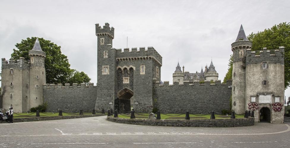 Ganz recht - Killyleagh Castle ist privat…