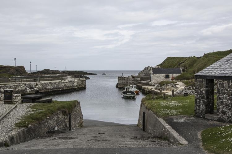 Der Hafen ist tatsächlich in der Serie wiederzuerkennen