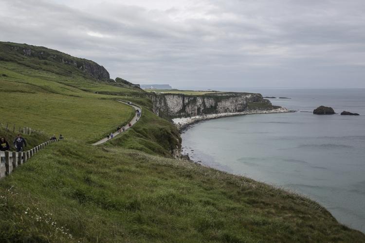 Die eineinhalb Kilometer lohnen sich - aber nicht wegen der Brücke