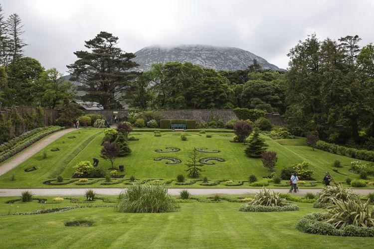 Wirkt bei Nebel und bei Wolken - der viktorianische Walled Garden