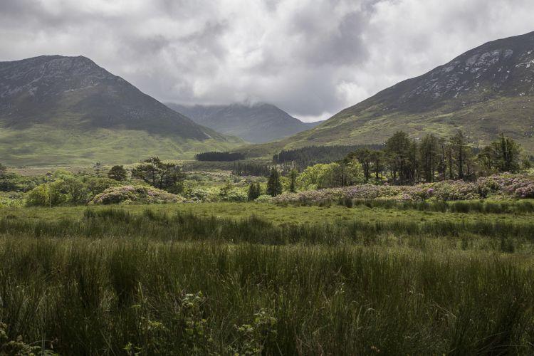 Die fantastische Landschaft von Connemara