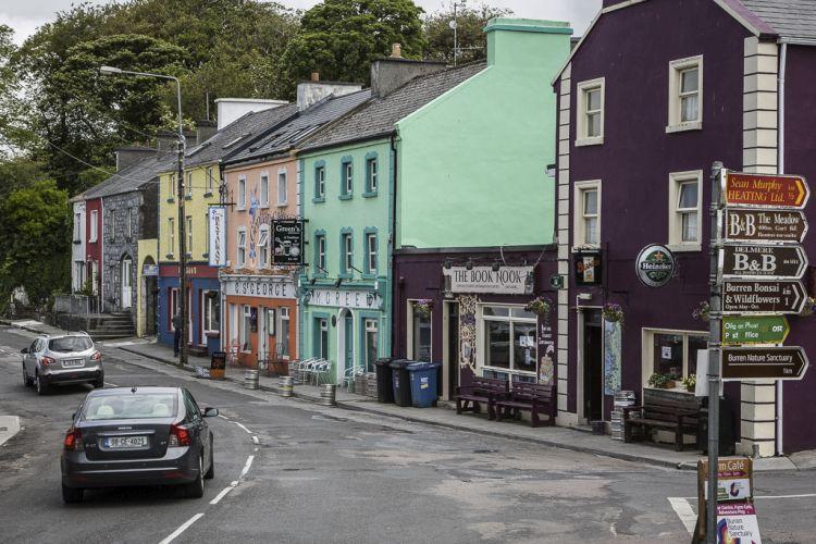 Das ist Kinvara, ein kleines Küstenstädtchen in der Nähe von Galway