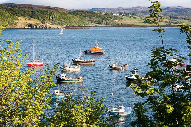Skye boats